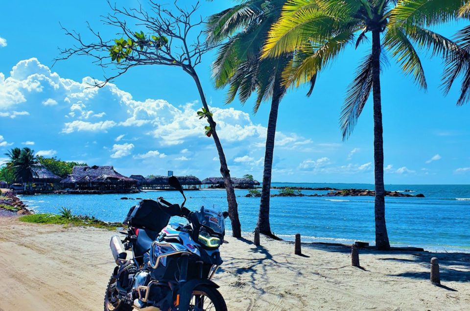 KOLUMBIA MOTOCYKLEM: Przez Andy po Wybrzeże Karaibskie. Motocyklowe El Dorado (cz. 1)