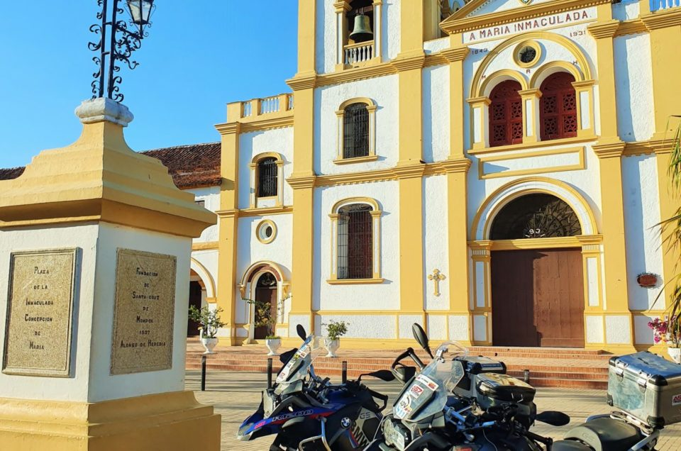 KOLUMBIA MOTOCYKLEM: kolonialnym szlakiem. Motocyklowe el Dorado (cz.2)